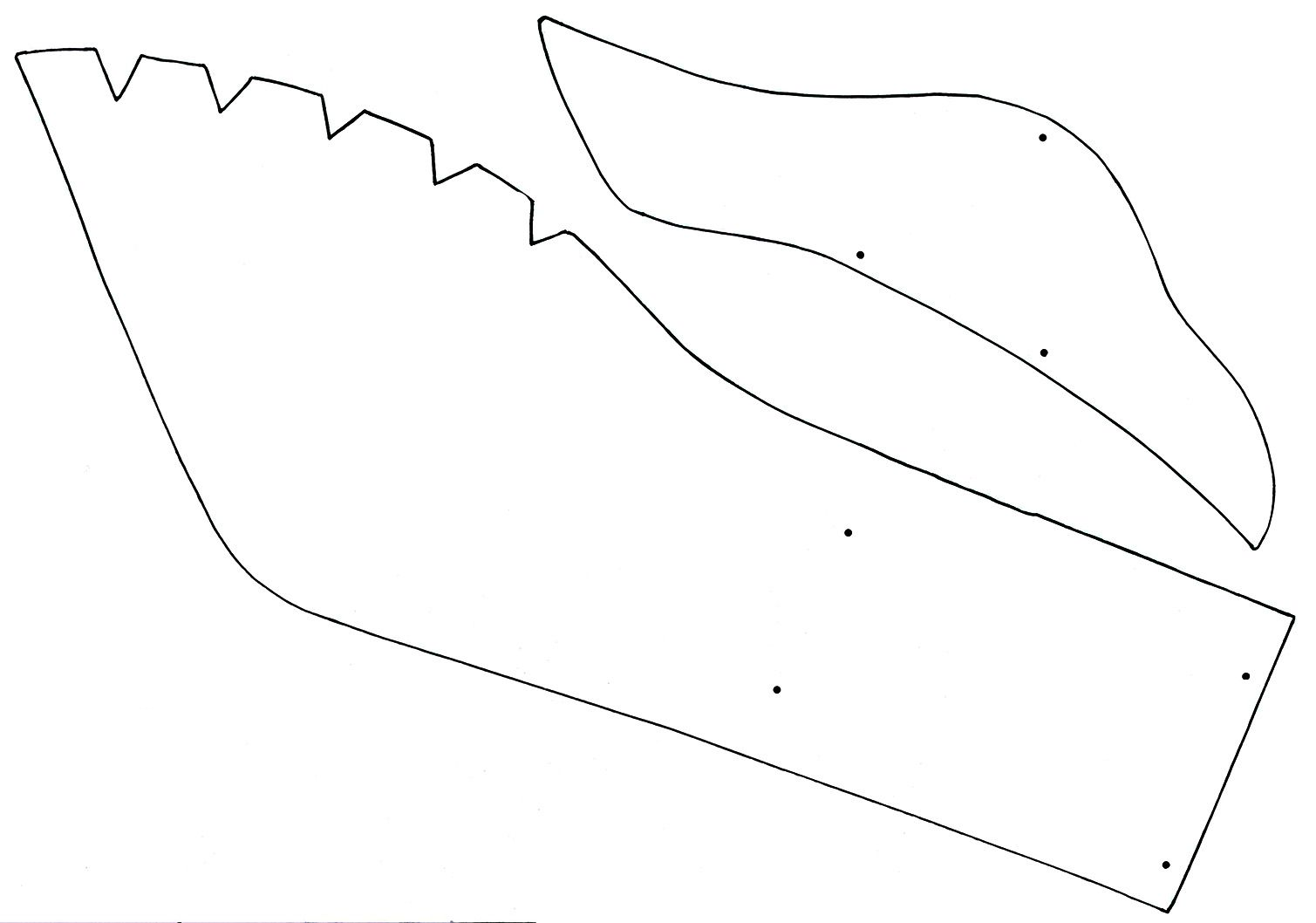 Dolphin pattern Use the printable pattern for crafts - oukas.info