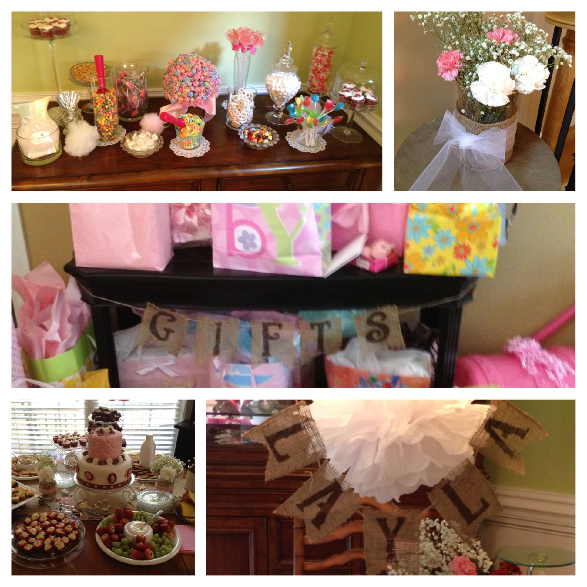 baby shower with burlap baby shower ideas pinterest