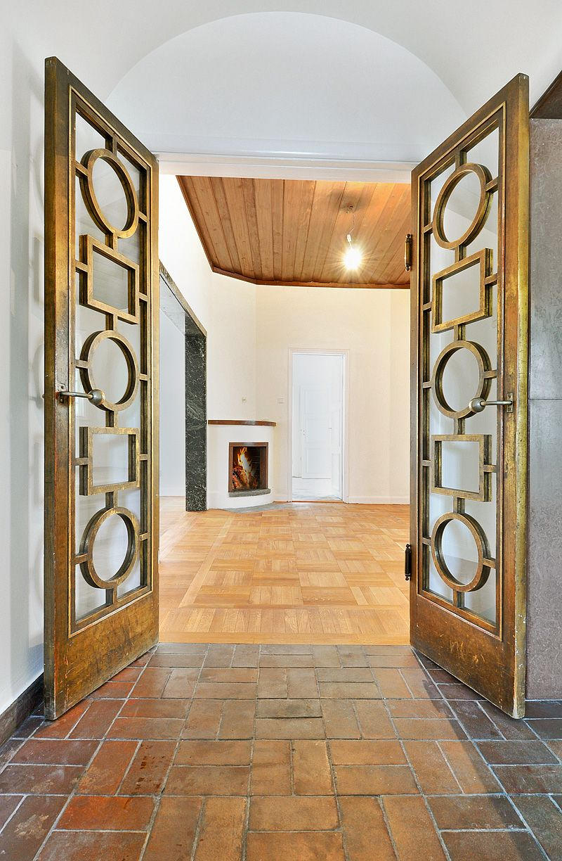 art deco doors interiors pinterest