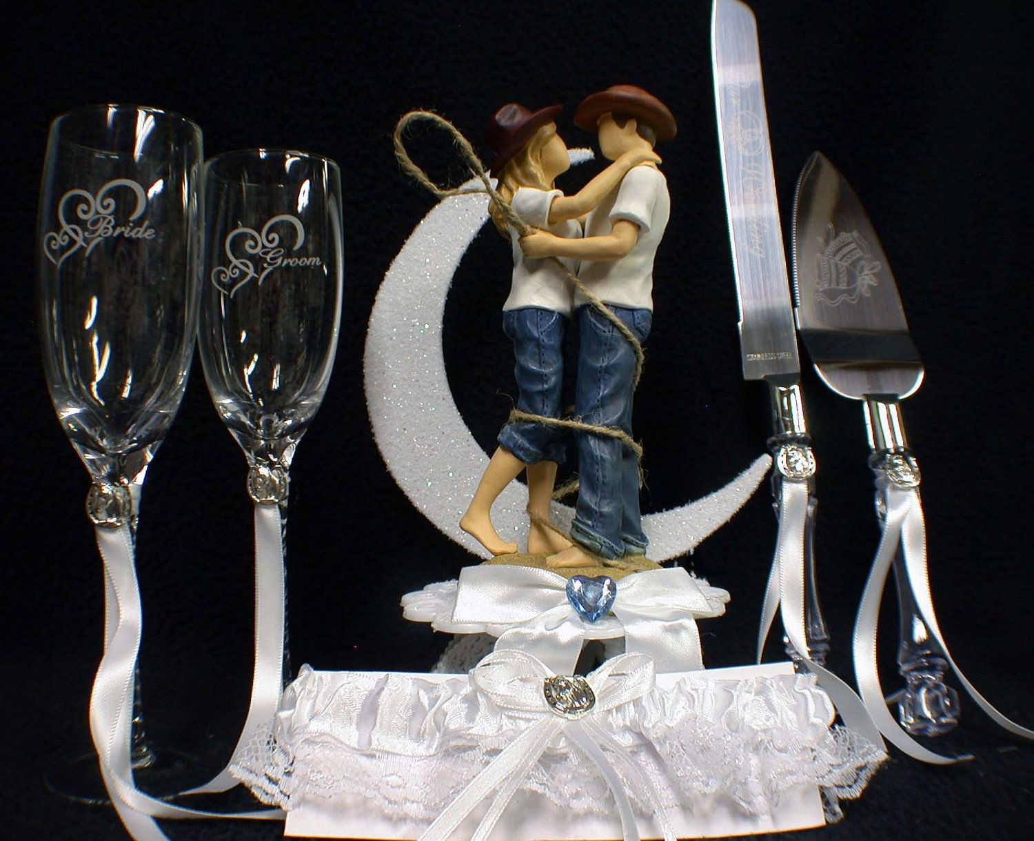 Wedding Cake Toppers Country Western Wedding cake topper country