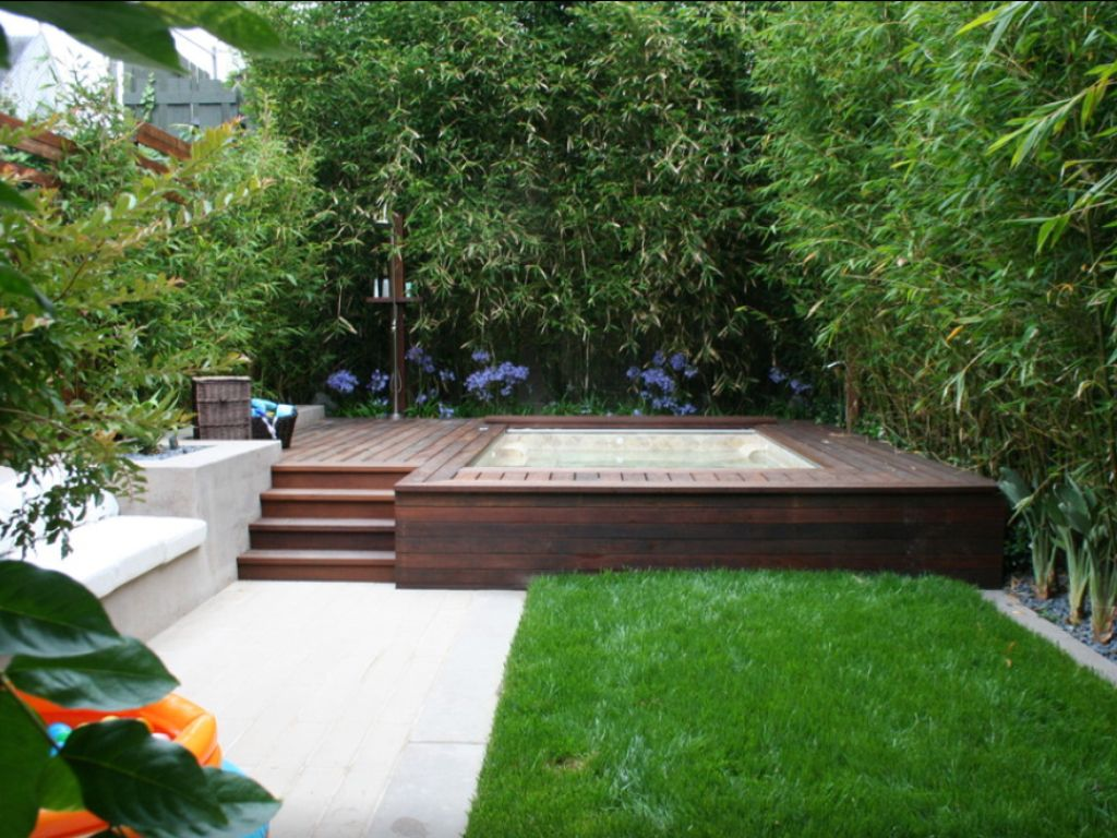 Hot Tub Deck And Patio Ideas Pinterest
