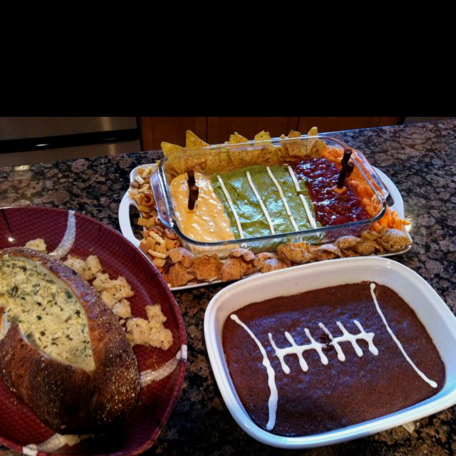 Fun football Sunday! | My love of food! | Pinterest