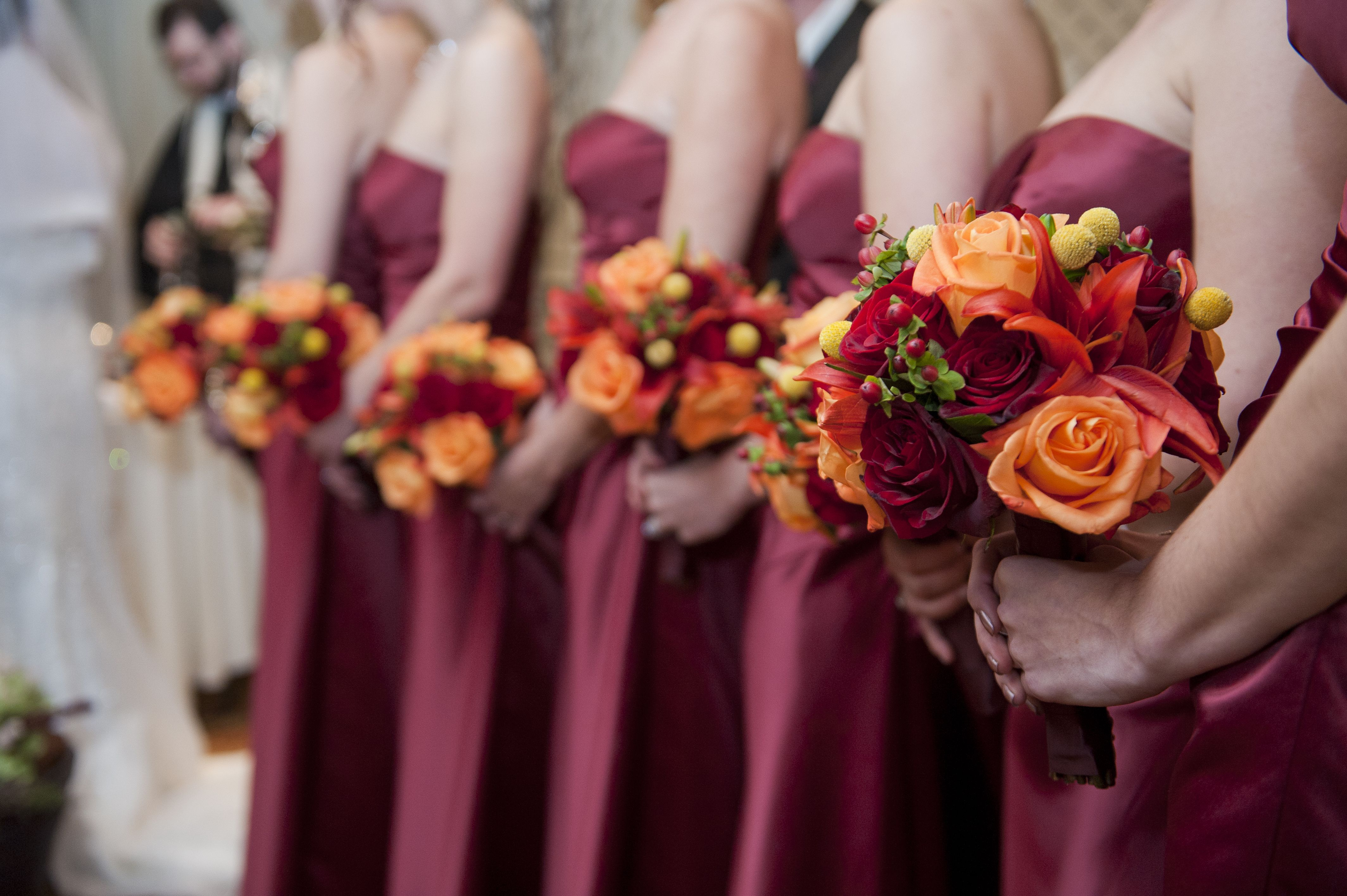 Fall colors my october wedding pinterest - Flowers for wedding in october a colorful autumn ...