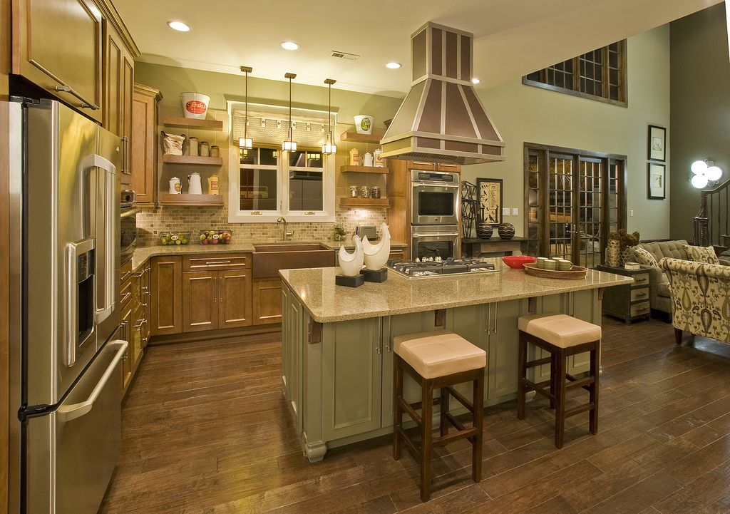 The Woodside Modular Home - Kitchen | For the Home | Pinterest