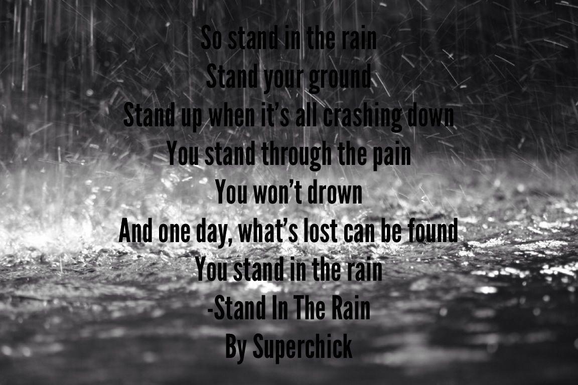 EDGUY - STANDING IN THE RAIN LYRICS