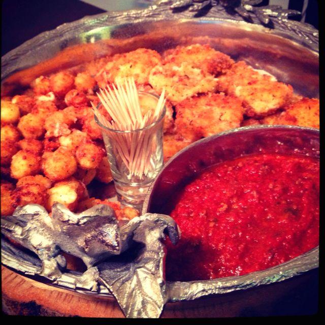 Fried mozzarella balls | fatkid at