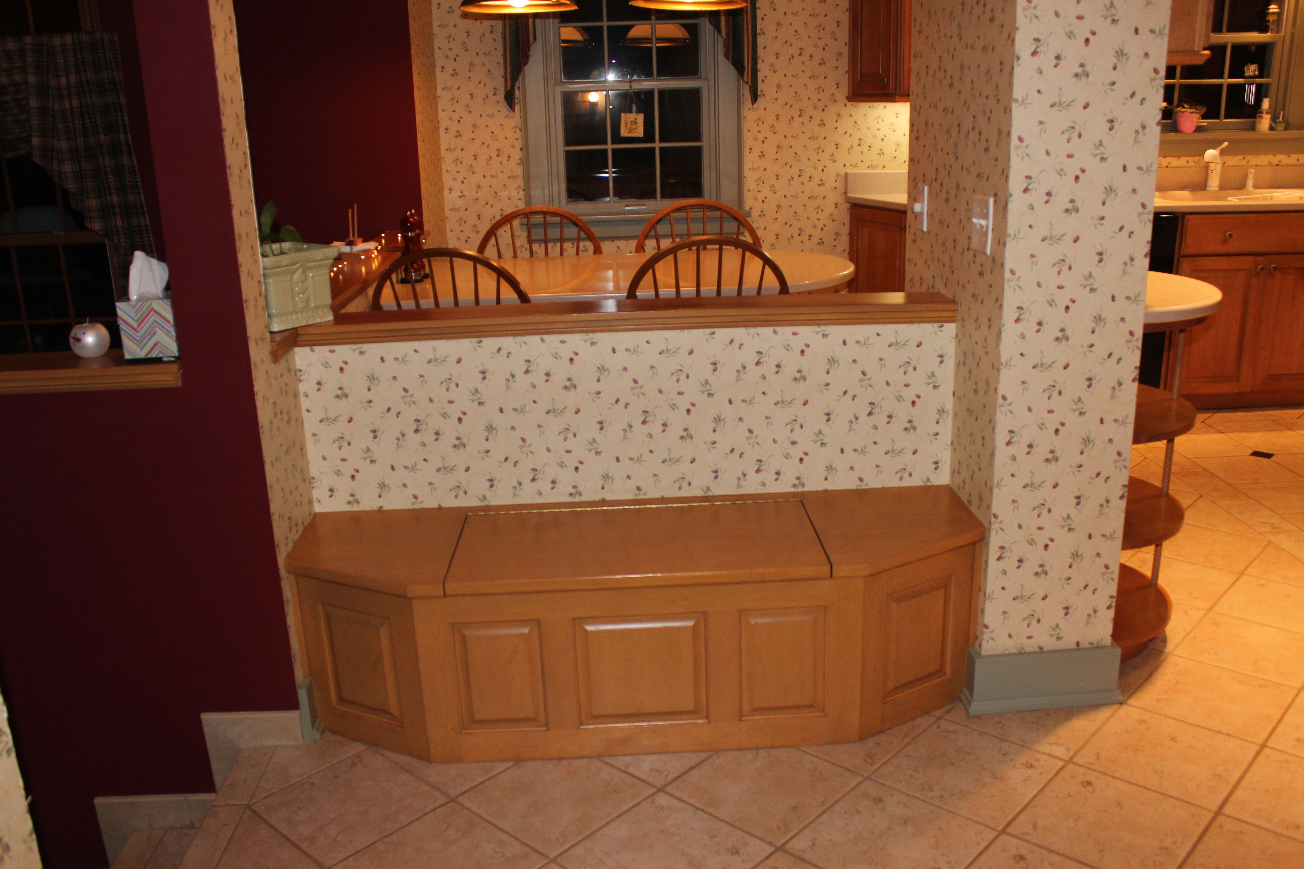 bench facing table kitchen ideas pinterest