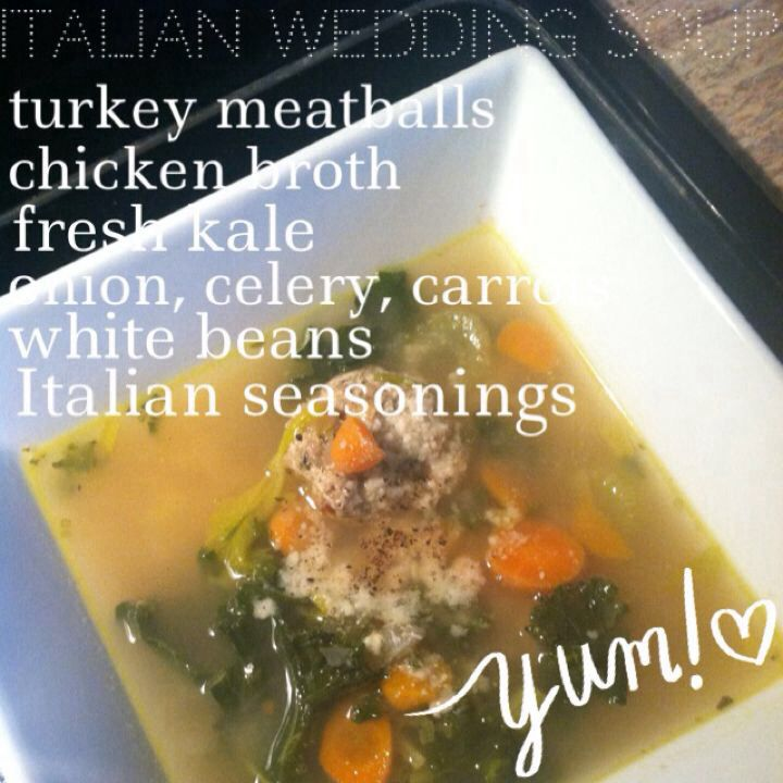 Light Italian Wedding soup | Eat to Live OR Live To Eat :) | Pinterest