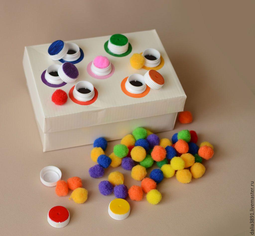 Развивающие игрушки цвета своими руками