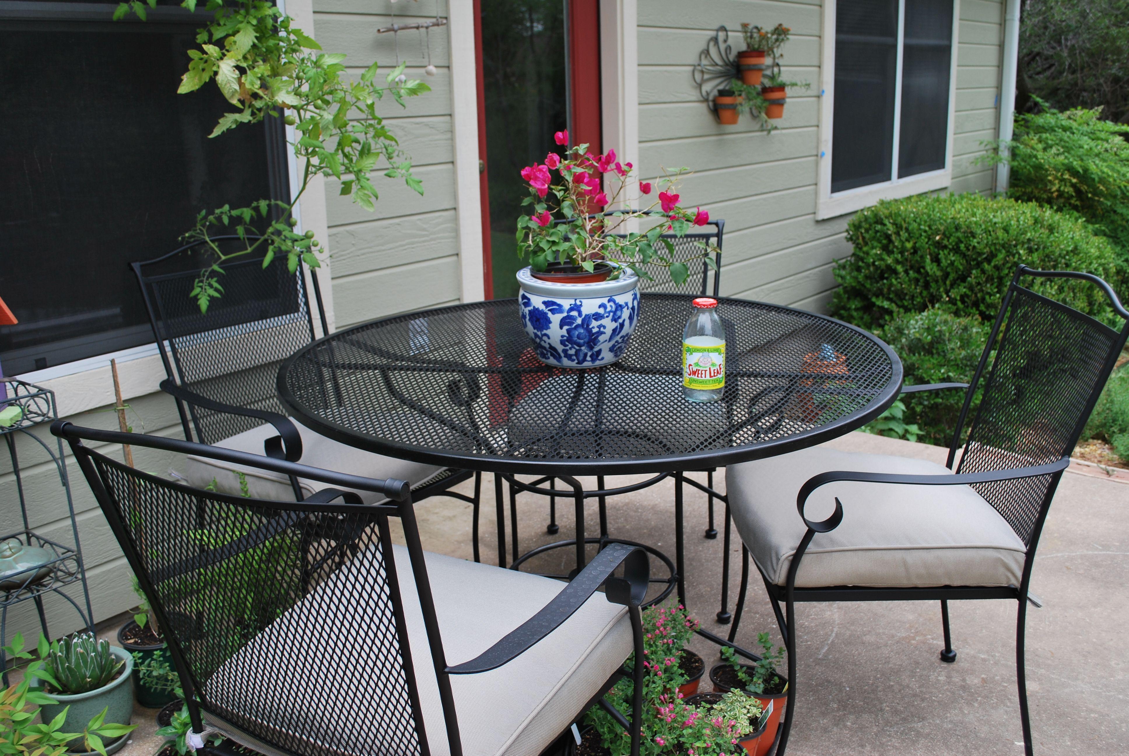My new Tar patio chairs Gardening