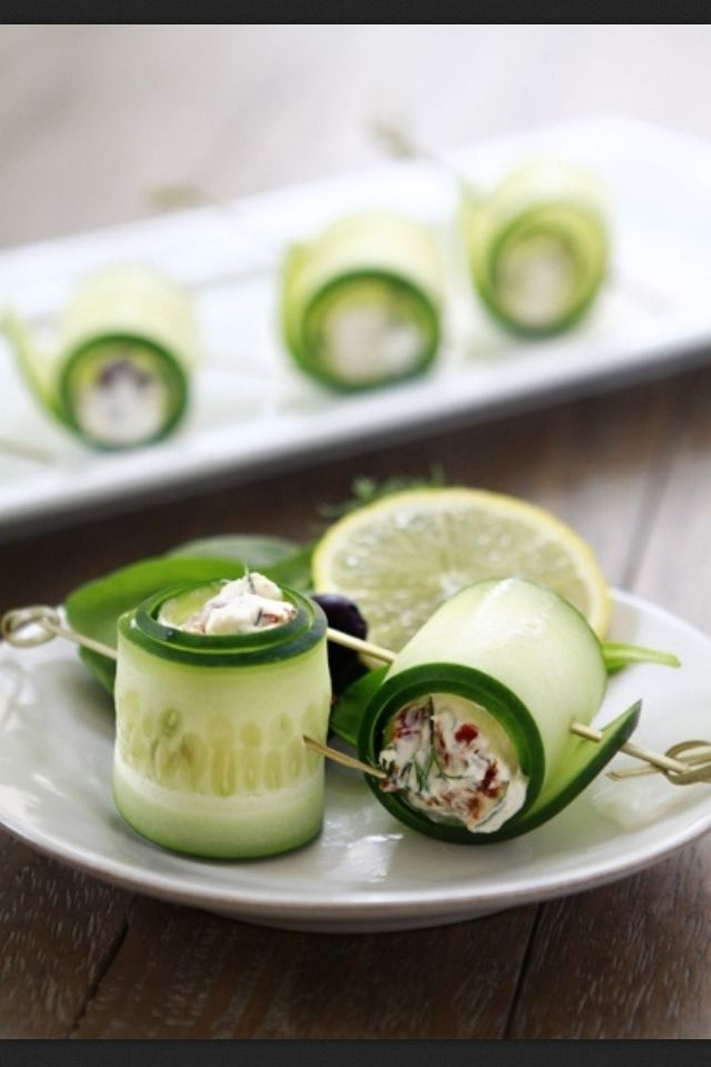 skewers with cucumber feta relish don t these cucumber feta rolls ...
