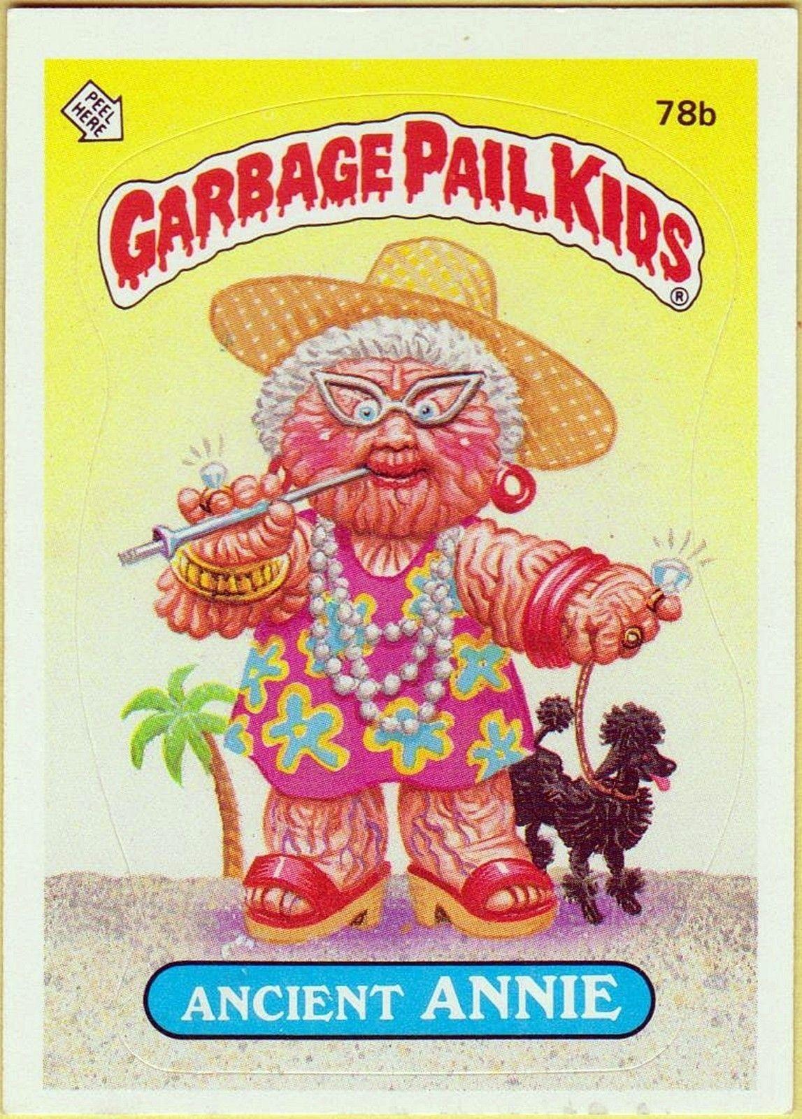 Garbage Pail Kids For My Love Of Vintage Pinterest