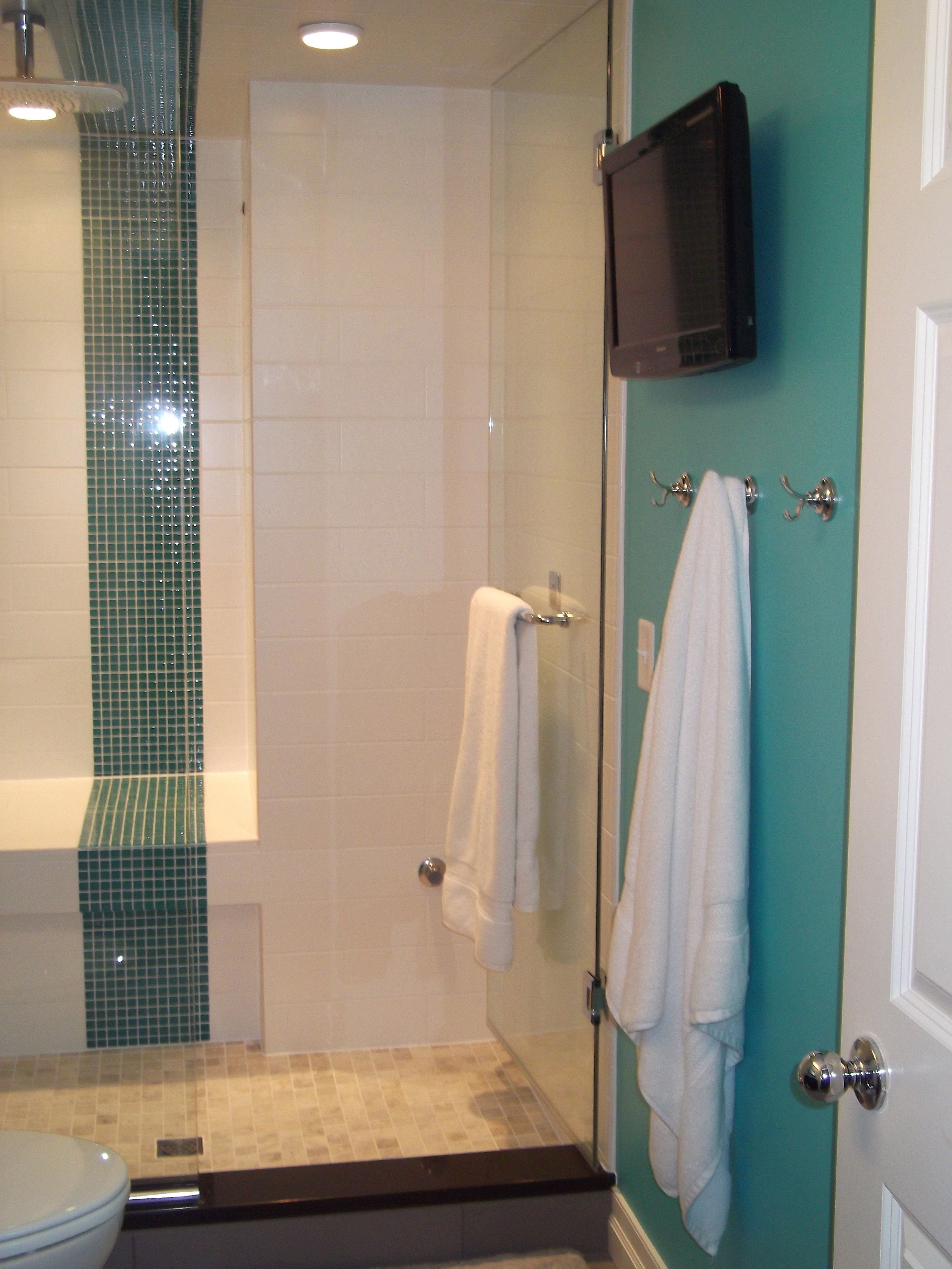 My downstairs teal bathroom home decor pinterest for Bathroom ideas teal