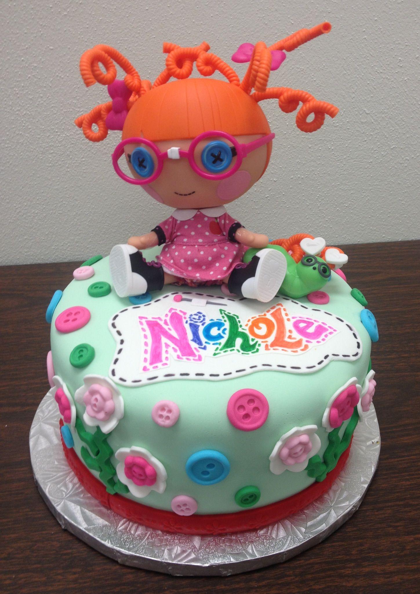 lalaloopsy birthday cake Cake Pinterest