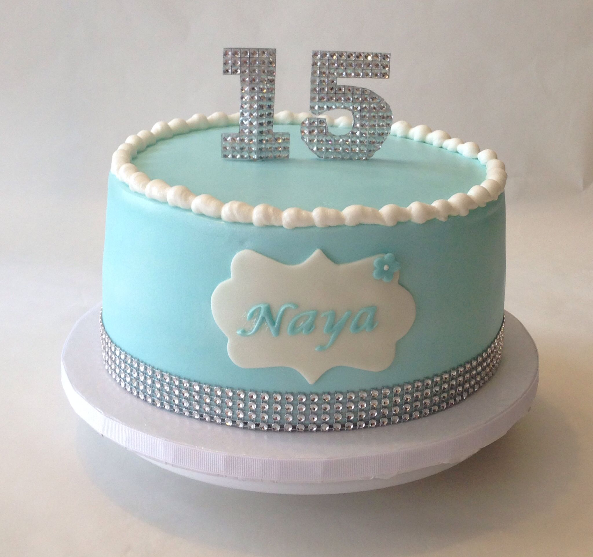 15th birthday cake ideas