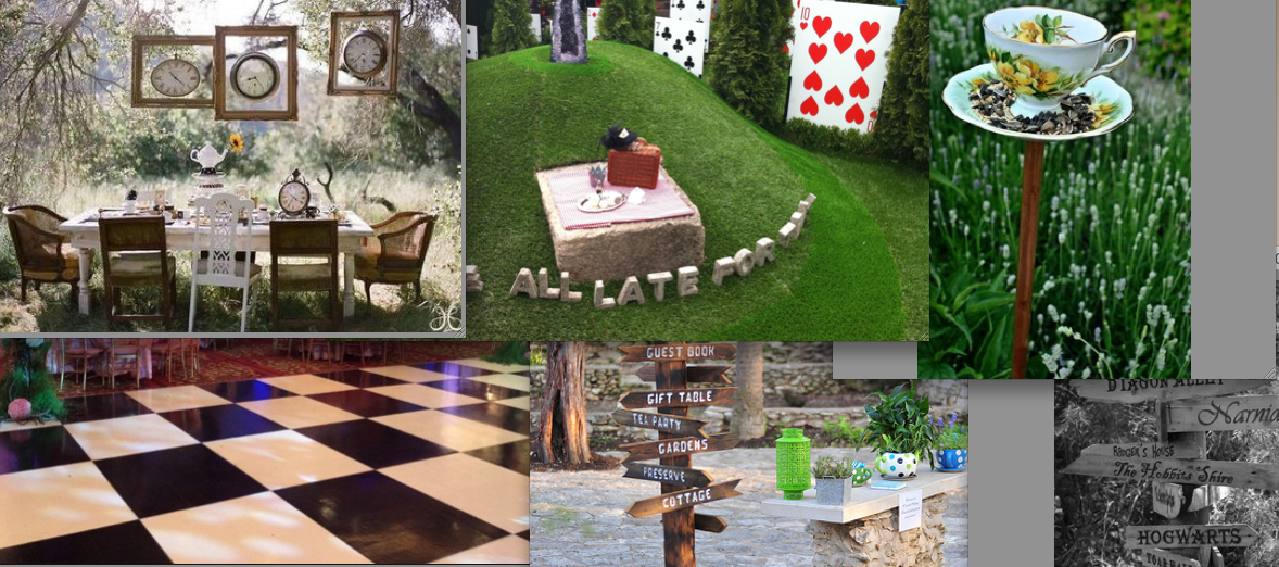Alice in wonderland garden ideas alice pinterest - Alice in wonderland outdoor decorations ...