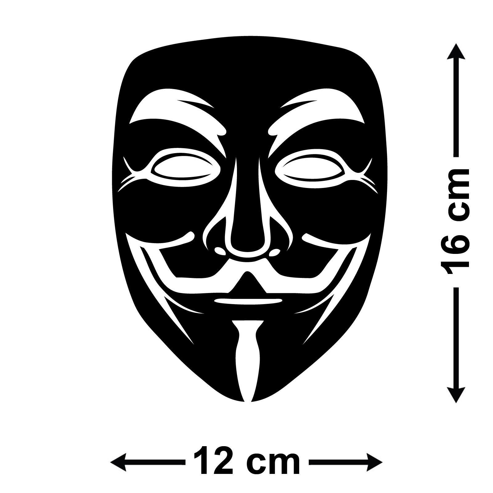 Как сделать маску анонимус 458