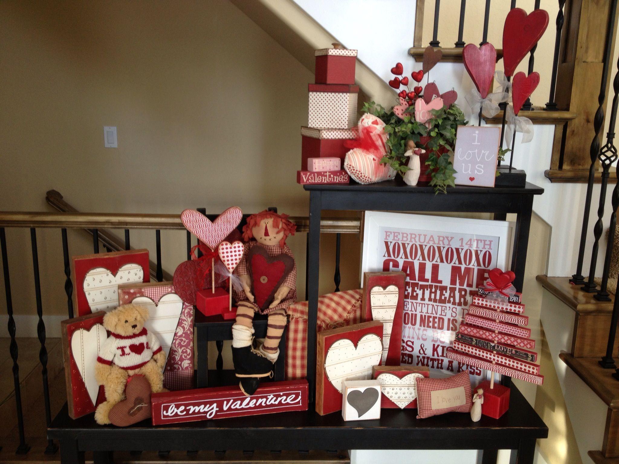 Valentine Decor Valentines Pinterest