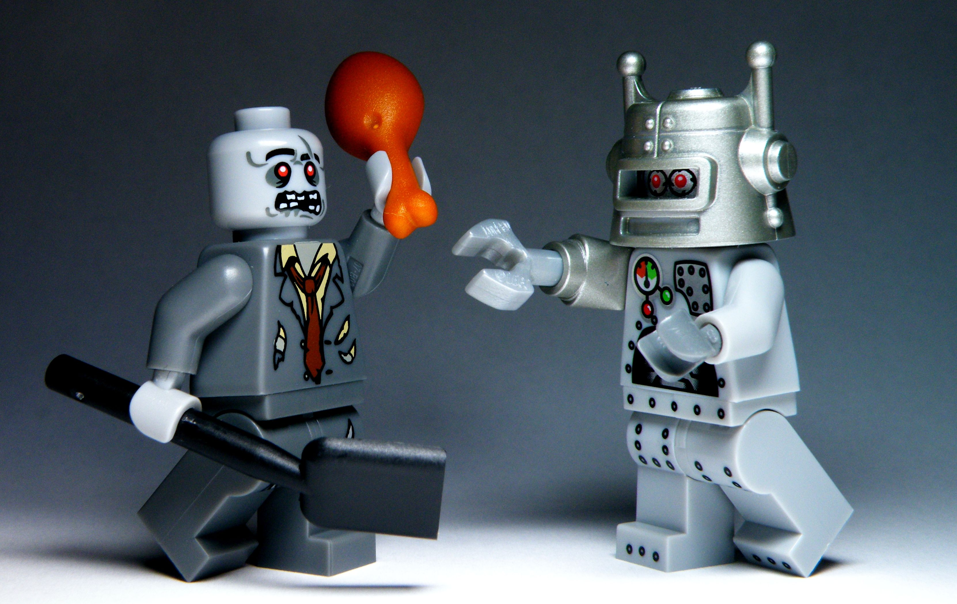 roboter vs zombies