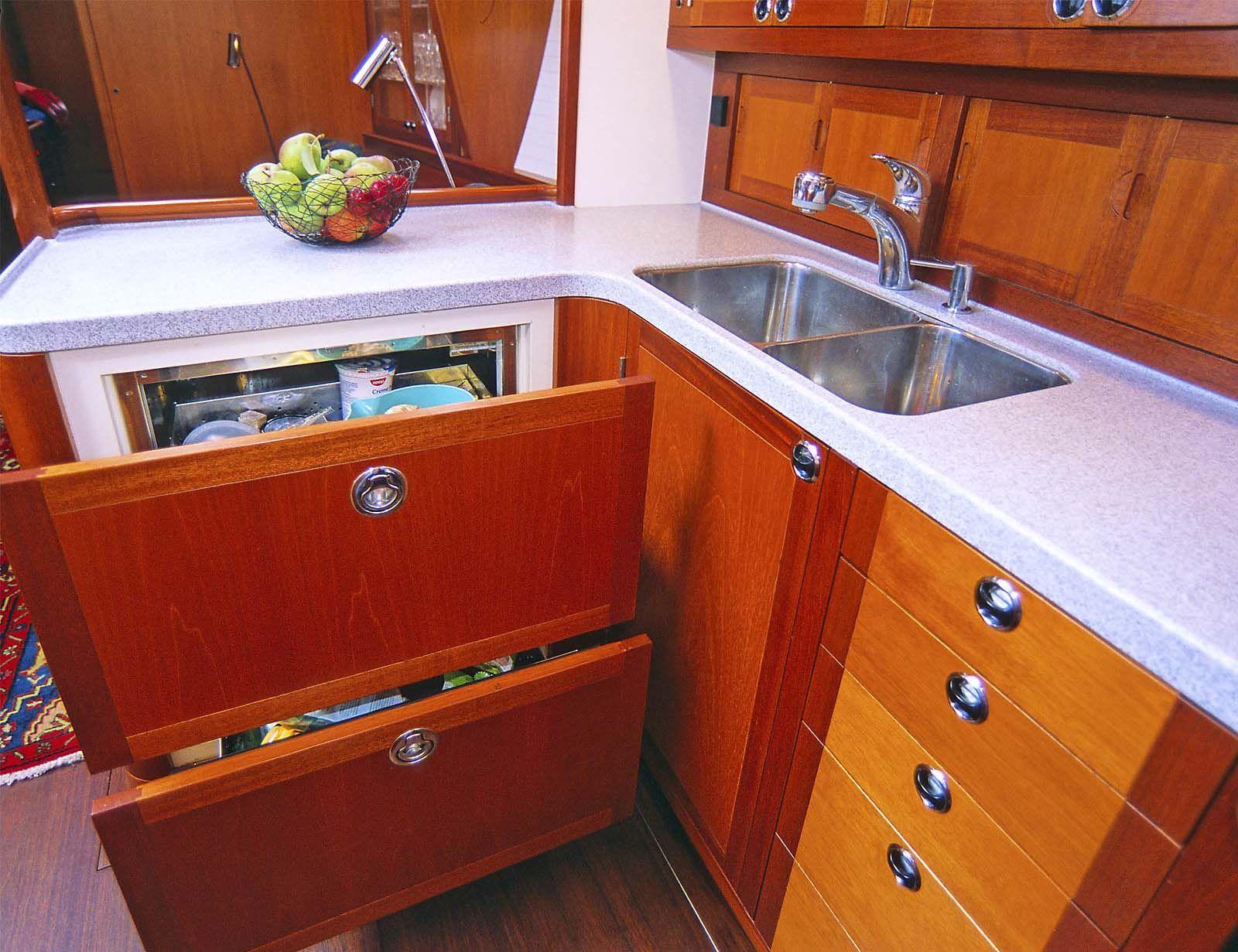 Boat Galley Design Sail Away Pinterest