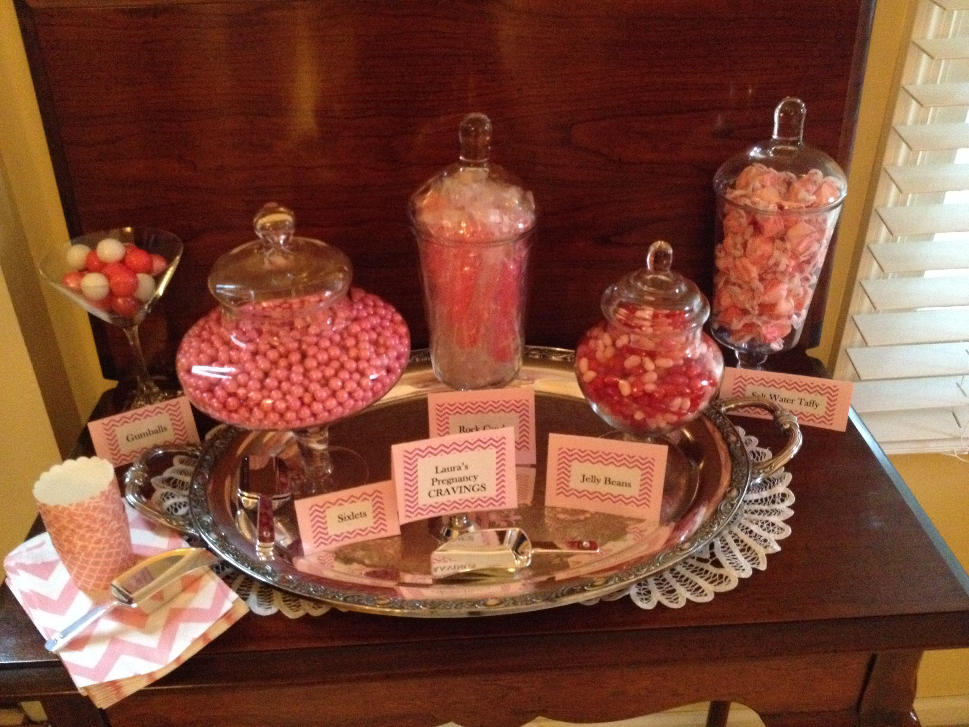 girl baby shower candy bar party ideas pinterest