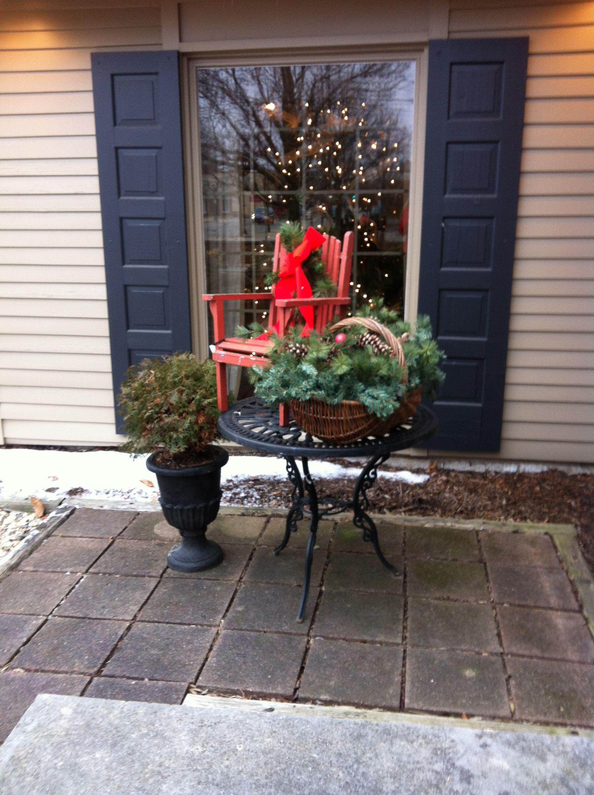 Vintage Backyard Decor : Outdoor vintage decor  christmas decor  Pinterest