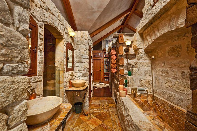 Ranch bathroom decadent decor pinterest for Ranch bathroom ideas