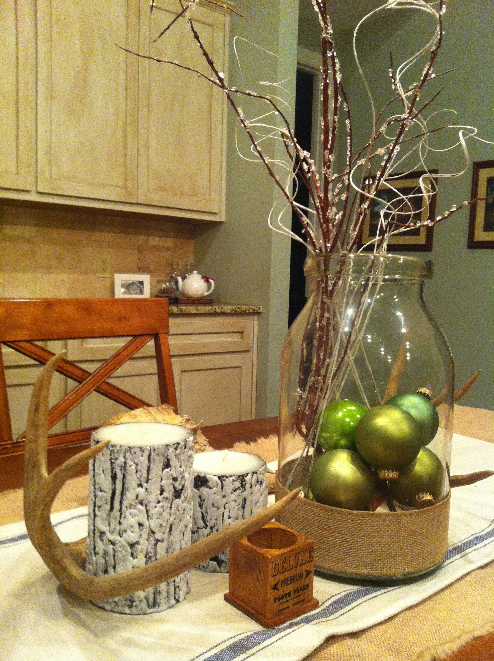 Farmhouse country Christmas | Decor Ideas | Pinterest