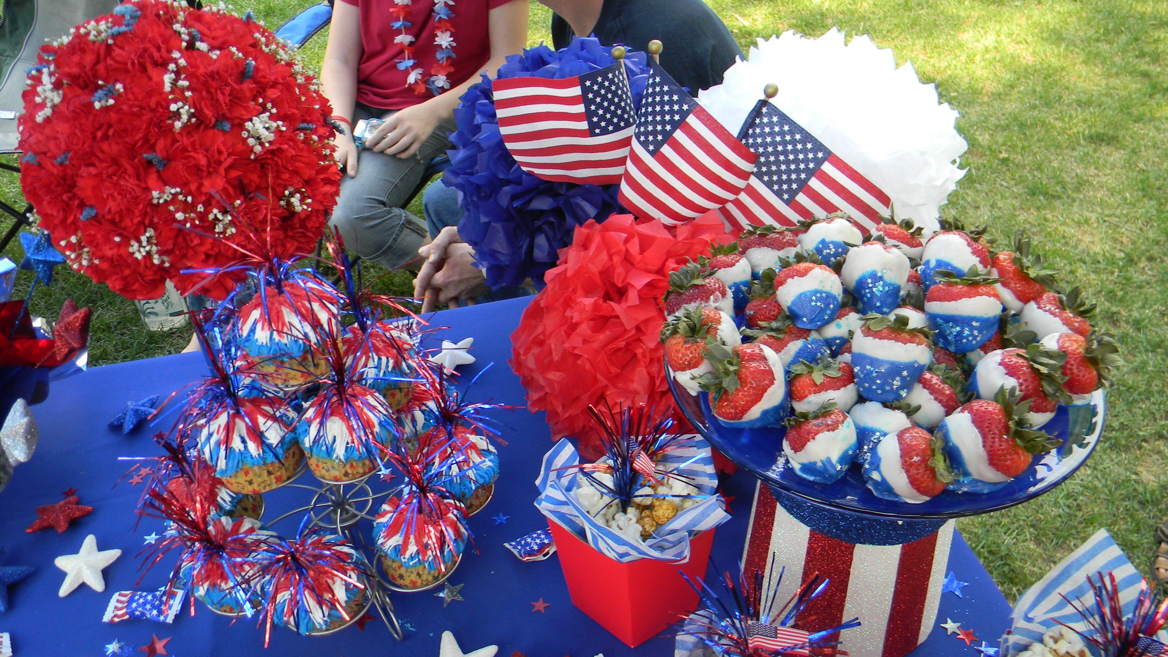 4th of july picnic dessert ideas