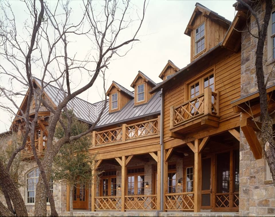 Texas timber frame homes log timber frame rustic for Timber frame house