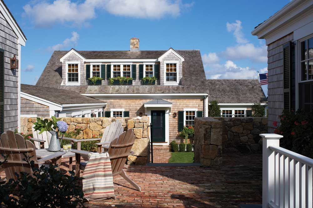nantucket dormer exterior home pinterest