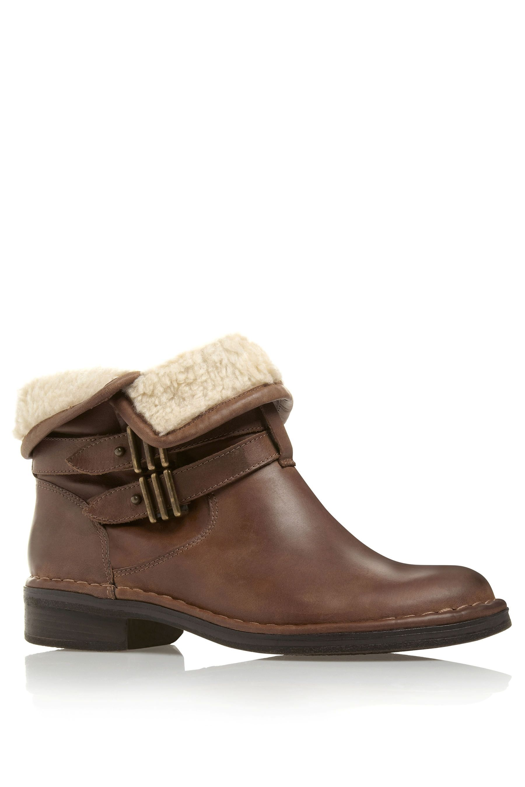 next faux fur stitch ankle boots ankle boots