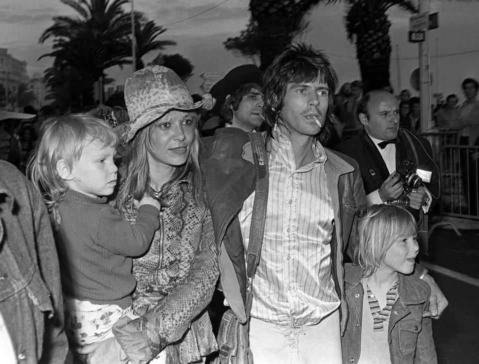 KEITH RICHARDS AND FAMILY   THE ROLLING STONES   Pinterest Keith Richards Family