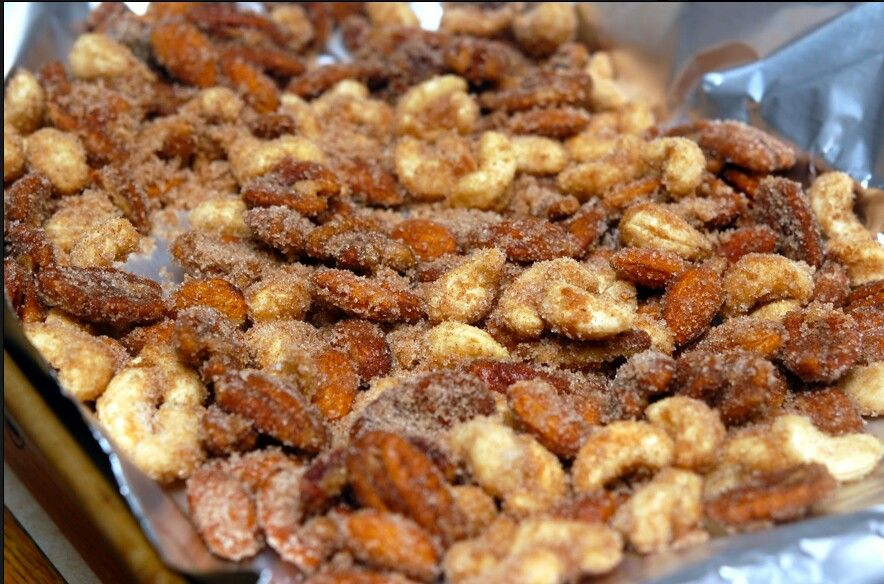 Candied nuts | recipes | Pinterest