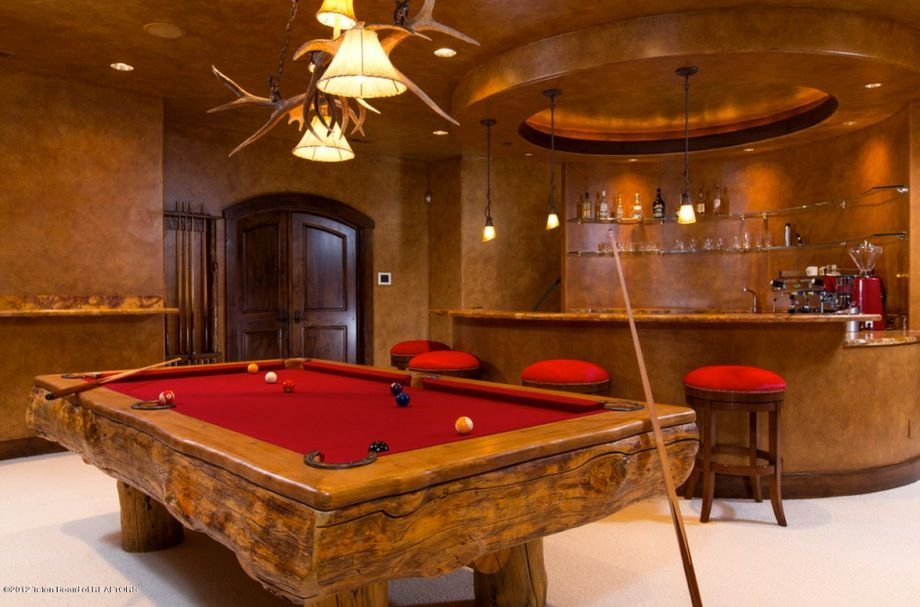 Man Cave With Pool : Pool table man cave pinterest