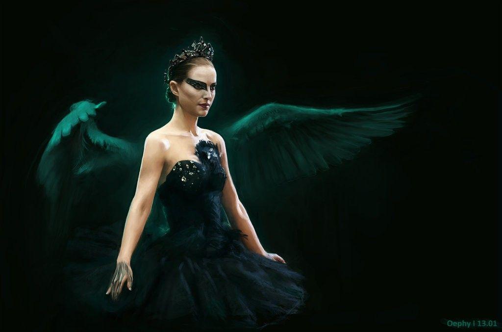 Натали Портман Танцует