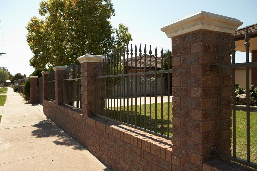 FrontBack Yard Fence Design FrontBack porch Pinterest