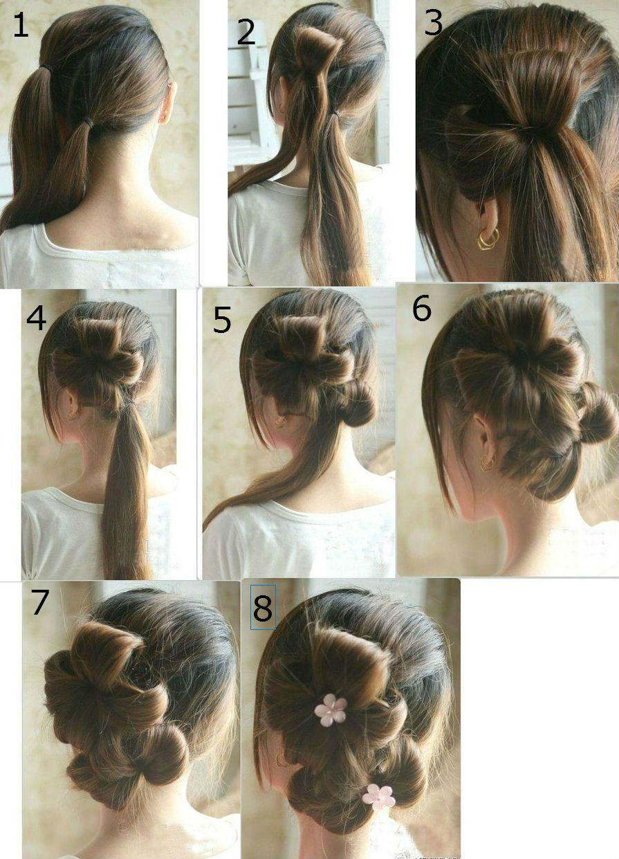 Как сделать прически на длинные волосы в домашних условиях