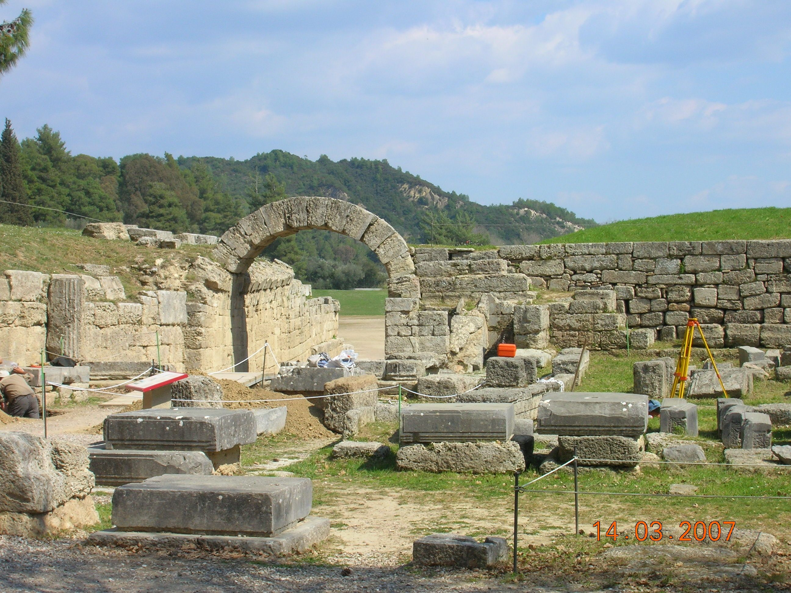 Olympia Greece Ancient Glory Pinterest
