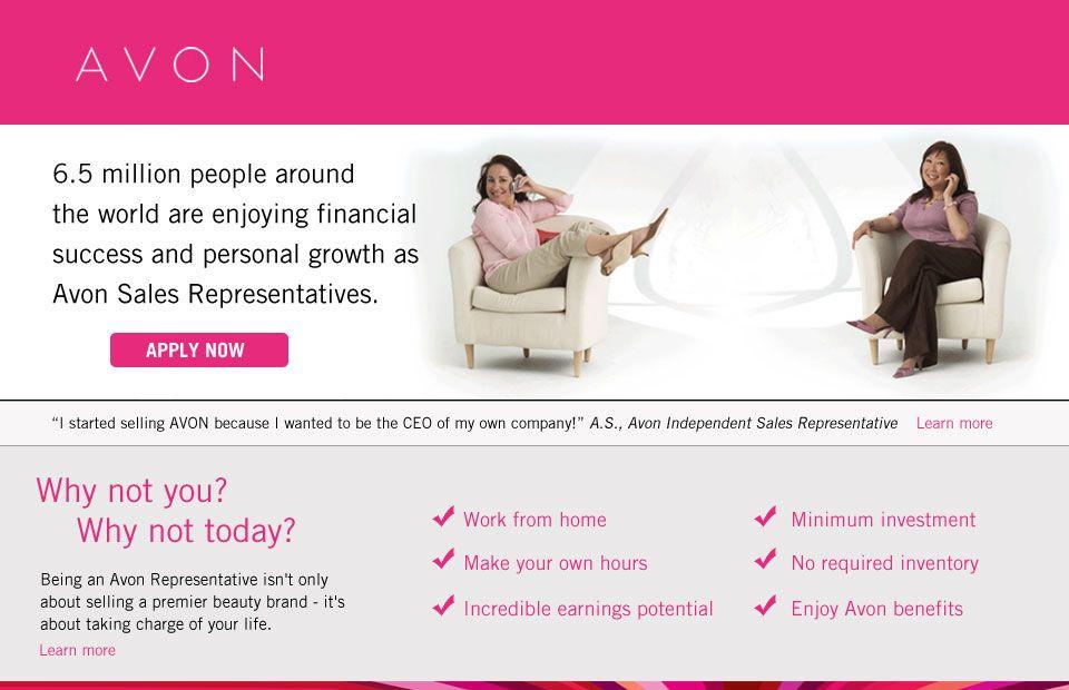 home business ideas like avon