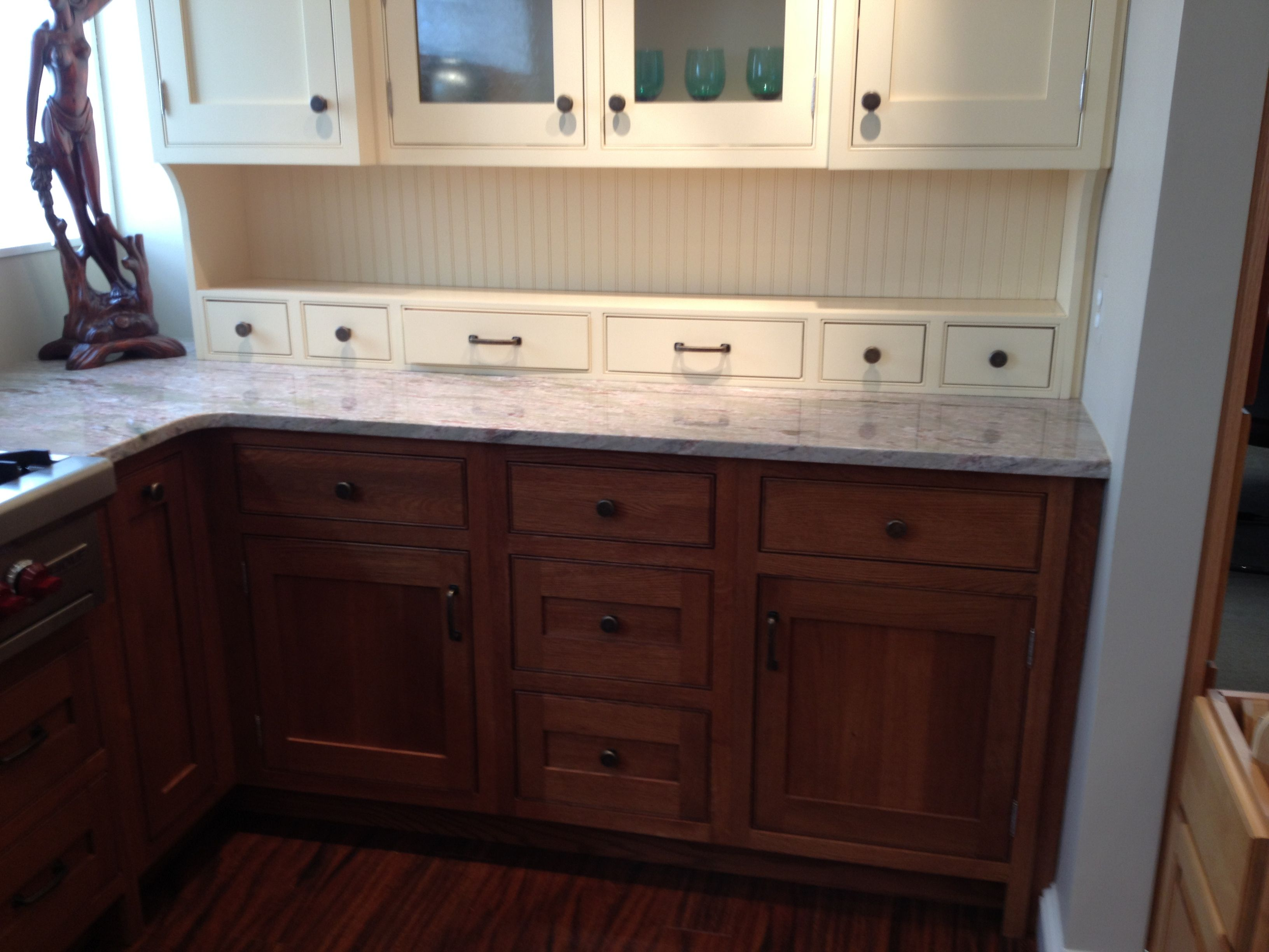 Use mixed cabinet colors in kitchen re modeling pinterest Kitchen design mixed cabinets