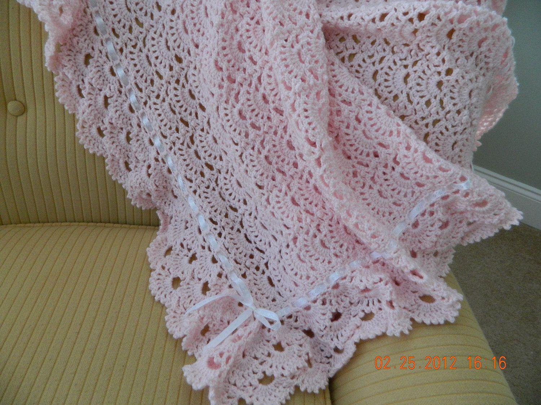Crochet Patterns Edging Baby Blankets : crochet blankets