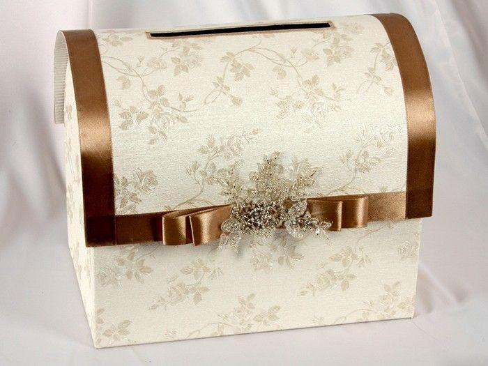 Сделать свадебный сундучок своими руками из коробки пошагово 14