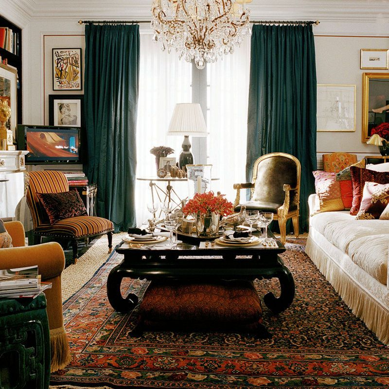 Living room ralph lauren hone decor pinterest for Ralph lauren living room designs