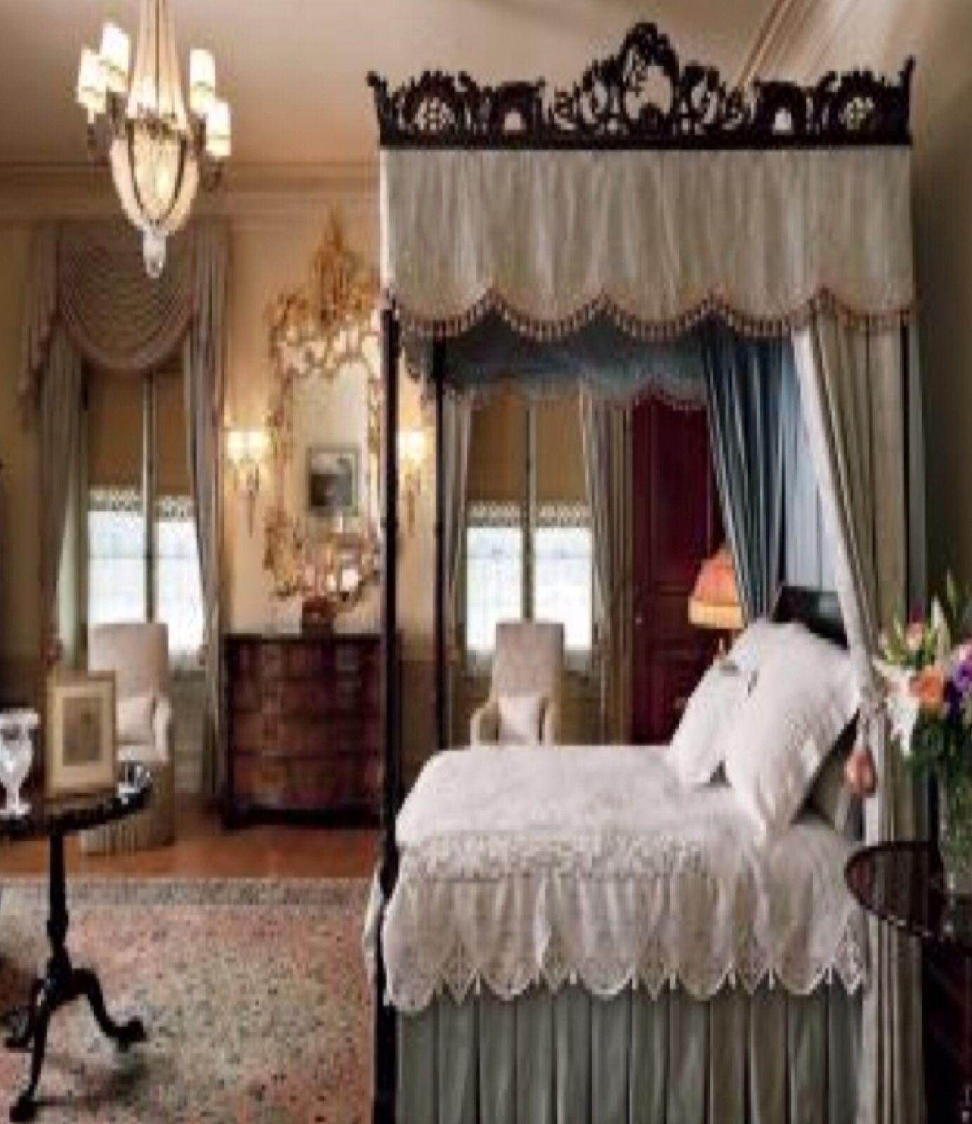 Luxury Bedrooms Canopy Bed Bedroom Pinterest