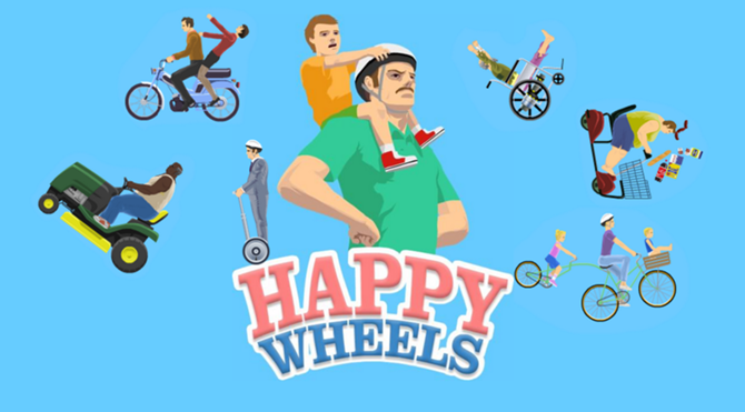 Unblocked Games At School 66 Happy Wheels | Games World