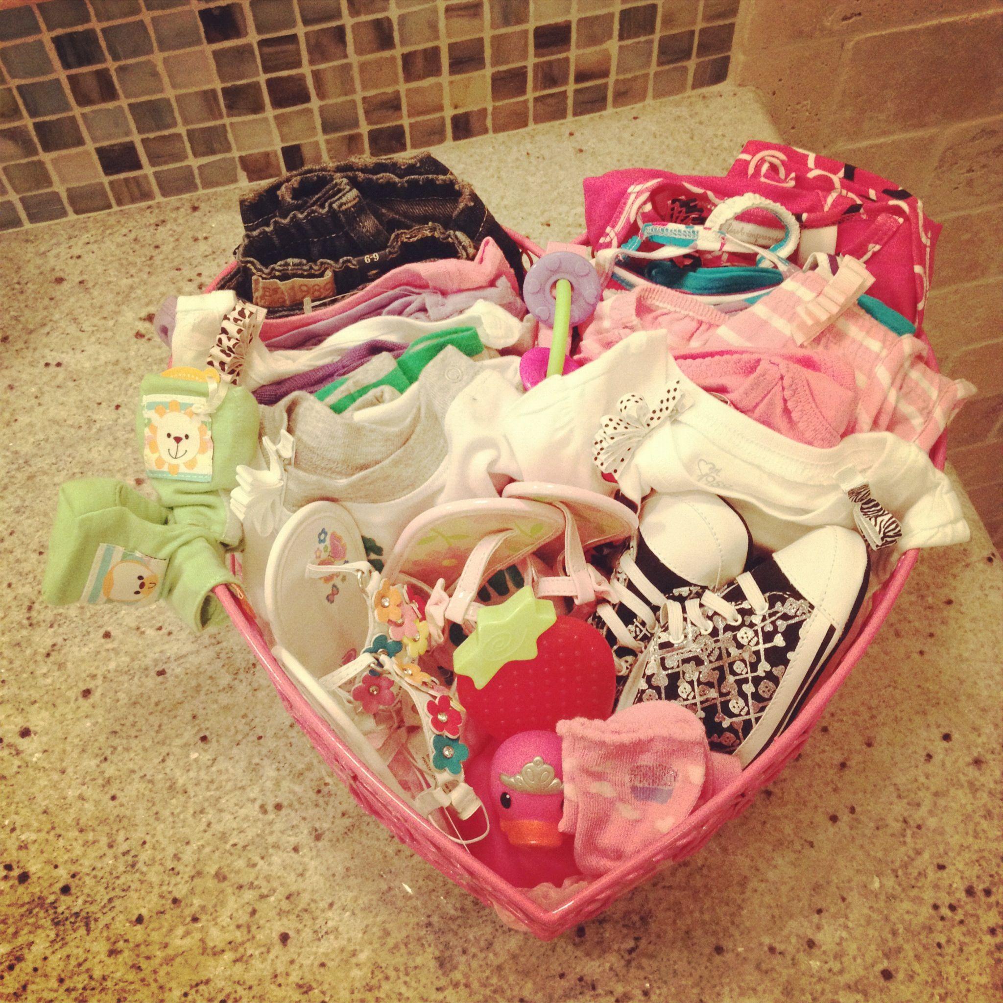 baby shower gift love basket babyyy pinterest