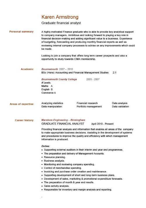 Standard CV Format Sample - http://jobresumesample/1065 ...