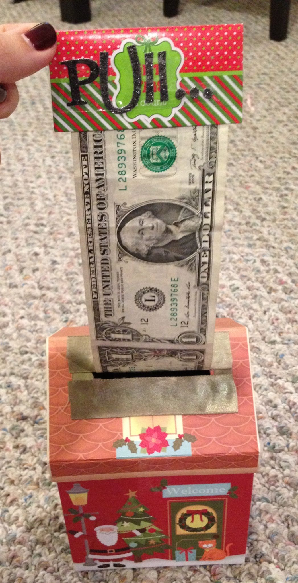 Cute way to give money as a gift arts and crafts for Arts and crafts that make money