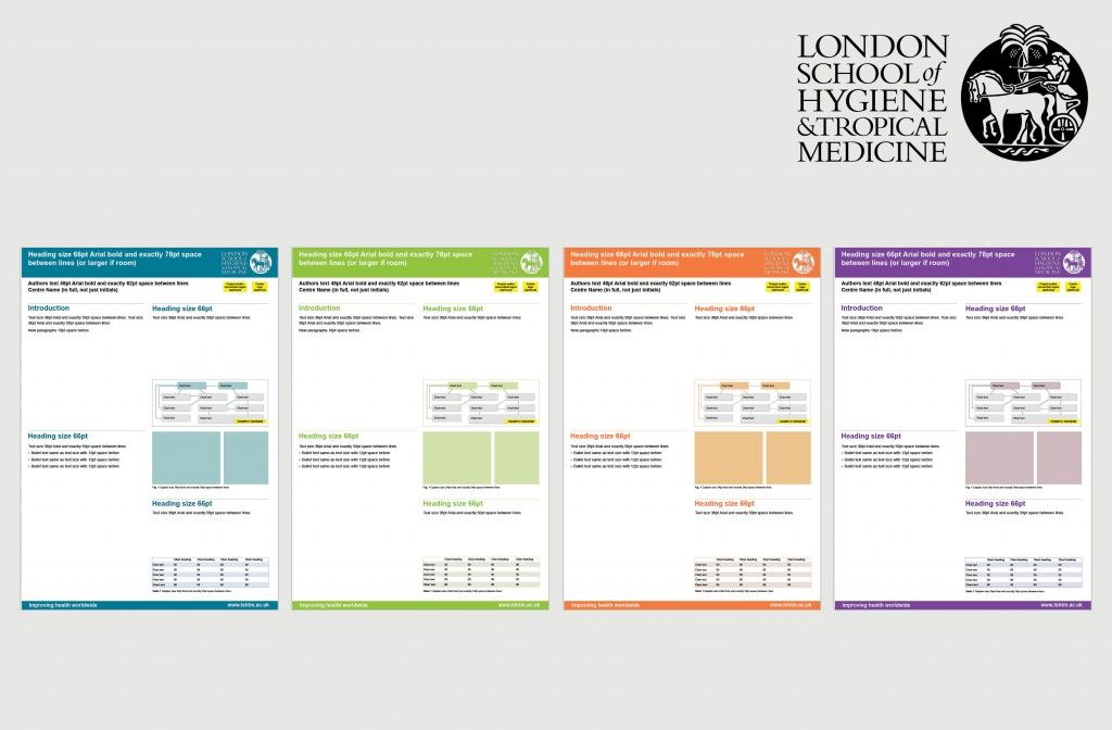 Medical powerpoint poster templates